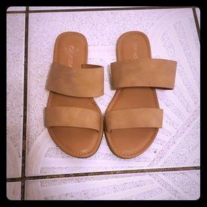 TM Nude Sandals